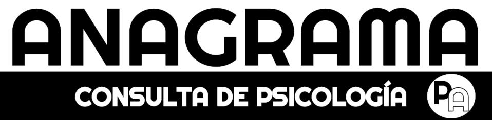 Anagrama Consulta de Psicología